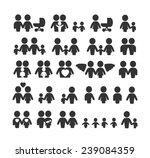 vector family and relationships ... | Shutterstock .eps vector #239084359