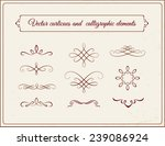 vector curlicues and... | Shutterstock .eps vector #239086924