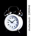 alarm clock over black | Shutterstock . vector #2390948
