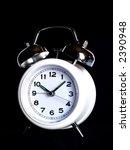 alarm clock over black | Shutterstock . vector #2390948
