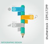 business infographic design... | Shutterstock .eps vector #239117299