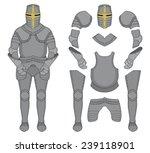 Medieval Templar Knight Armor...