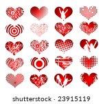 20 trendy hearts
