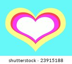 heart illustration  ... | Shutterstock . vector #23915188