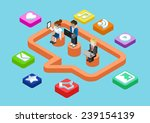 business chat message  social... | Shutterstock .eps vector #239154139