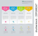 infographics template for... | Shutterstock .eps vector #239188267