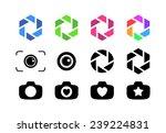 vector illustrations of camera...