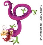 chinese dragon. | Shutterstock . vector #239258047