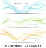 set of vector banner with...