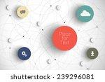 vector abstract  infographic... | Shutterstock .eps vector #239296081