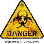 computer virus alert sign ... | Shutterstock .eps vector #239301991