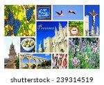 Photo Collage Of  Provence ...
