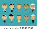 couple of professionals | Shutterstock .eps vector #239319331