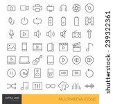 premium multimedia ultra thin...   Shutterstock .eps vector #239322361