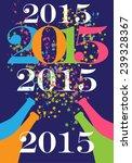 happy new year | Shutterstock .eps vector #239328367