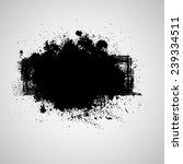 grunge banner. vector... | Shutterstock .eps vector #239334511