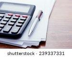 Calculator  Pen  White Paper...