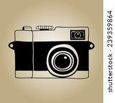 camera sketch | Shutterstock .eps vector #239359864