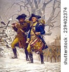 Continental Army Color Guard ...