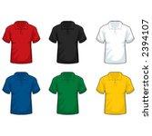 shirt with collar | Shutterstock .eps vector #2394107