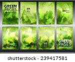 set of templates brochure.... | Shutterstock .eps vector #239417581