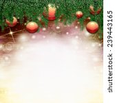 christmas background   | Shutterstock . vector #239443165