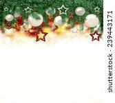 christmas background   | Shutterstock . vector #239443171