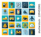 flat concept  design with... | Shutterstock .eps vector #239452081