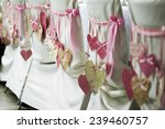 wedding chairs with decoration | Shutterstock . vector #239460757