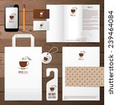 coffee house identity template... | Shutterstock .eps vector #239464084