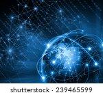best internet concept of global ... | Shutterstock . vector #239465599