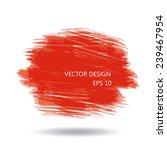 watercolor splatter  vector... | Shutterstock .eps vector #239467954