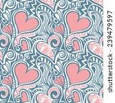 love valentine seamless pattern ...