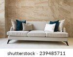 sofa in hotel lobby | Shutterstock . vector #239485711