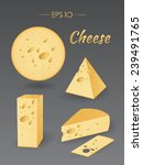 Vector Illustration. Cheese....