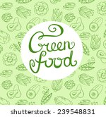 vector background with green... | Shutterstock .eps vector #239548831