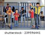 turkish syrian border  june  27 ...   Shutterstock . vector #239596441