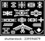 aztec navajo indian american... | Shutterstock .eps vector #239596879