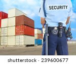 security guard | Shutterstock . vector #239600677