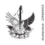 rock n roll | Shutterstock .eps vector #239604415