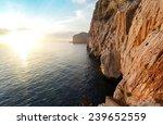 high cliffs and sea  neptune... | Shutterstock . vector #239652559