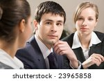 portrait of confident... | Shutterstock . vector #23965858