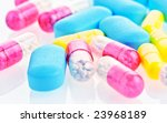 close up medical pills and... | Shutterstock . vector #23968189