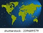 the world map | Shutterstock .eps vector #239689579