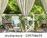 Terrace In The Garden With...