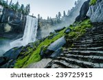 Vernal Falls At Yosemite...