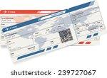 vector image of airline... | Shutterstock .eps vector #239727067