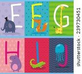abc animals   Shutterstock .eps vector #239730451