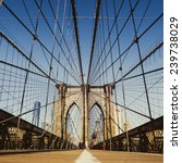 brooklyn bridge  new york city | Shutterstock . vector #239738029