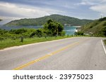 tropical path leading through... | Shutterstock . vector #23975023